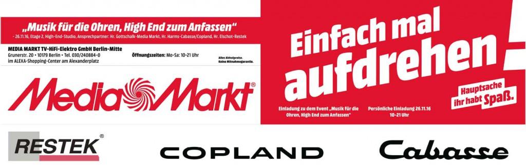 RESTEK bei Mediamarkt Berlin